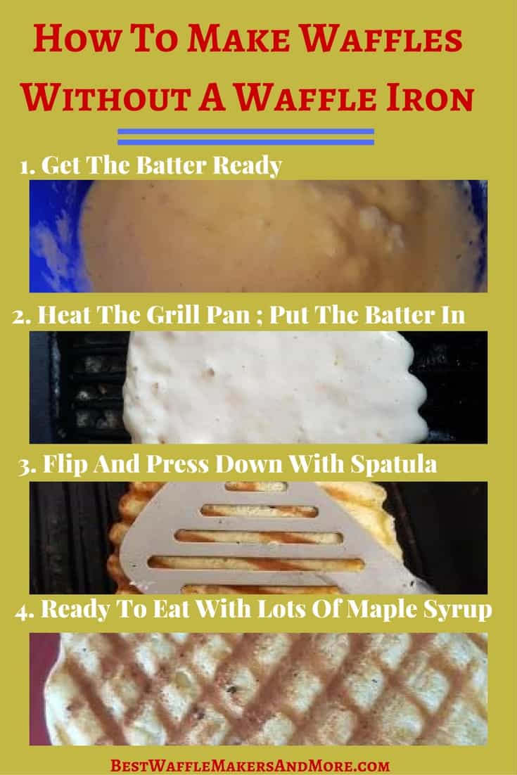 how to make waffles without a waffle maker in 4 easy steps best waffle makers more. Black Bedroom Furniture Sets. Home Design Ideas